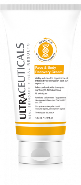 SunActive Recovery Face and Body Cream 130ml
