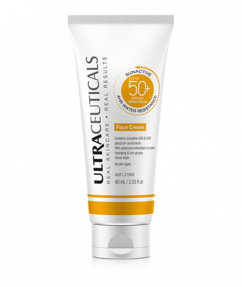 Sunactive SPF50+Face Cream 60ml