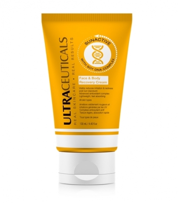 Sun Active Face and Body Recovery Cream.